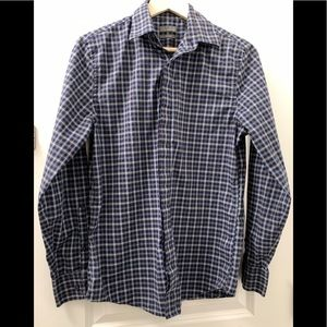 Nordstrom EUC Kids Button Down Long Sleeves Polo